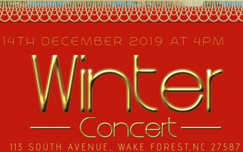 Ad for Christmas Event festival Concert Poster Template